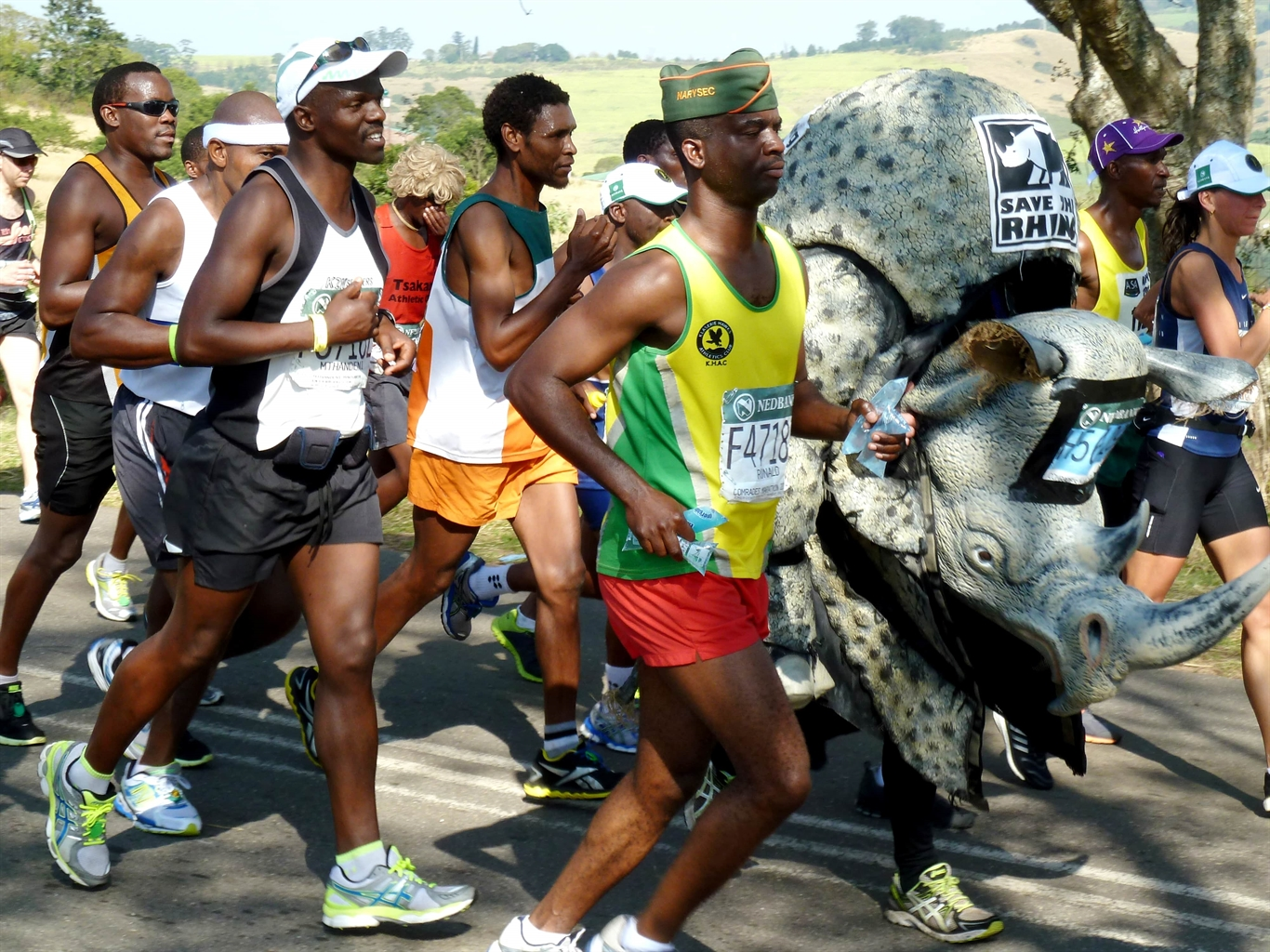 Durban to PMB Comrades Marathon Up Run